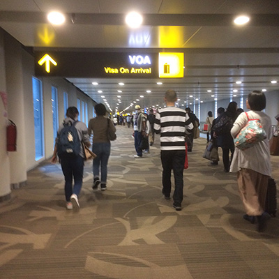 ングラライ空港(二)