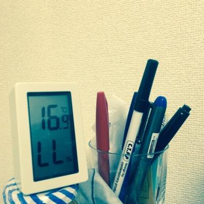 湿度計の表示がLL