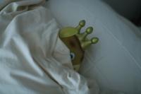 低反発枕ってのもあったけど高かった。