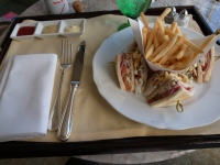 クラブハウスサンドイッチ二